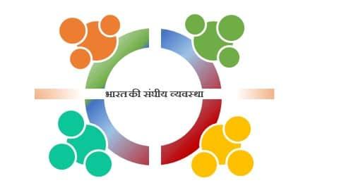 भारत की संघीय व्यवस्था । Federal System of India in hindi