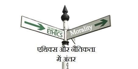 एथिक्स और नैतिकता