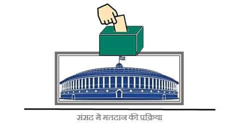 संसद में मतदान