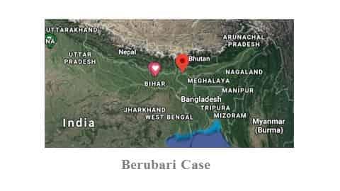 Berubari Case in Hindi। बेरुबाड़ी मामला पर चर्चा